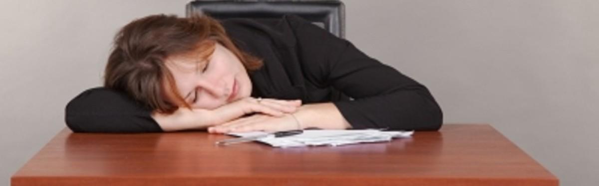 她是累坏了还是在做着创业的梦?