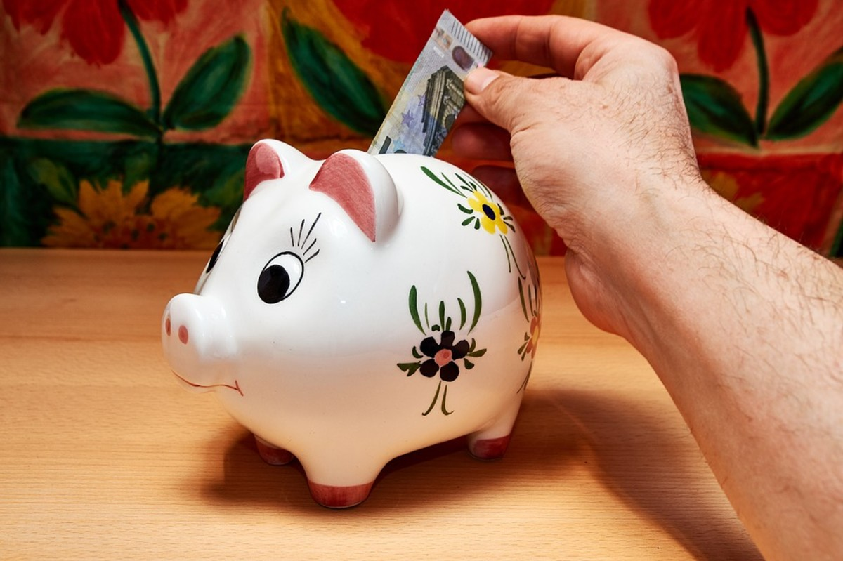 Have a concrete plan of action for saving money each month and stick to it.