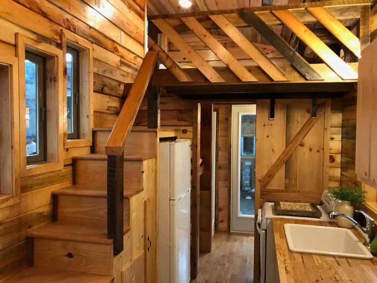 Sadly, lofts are usually off limits to people who cannot climb ladders or walk up stairs. Ramps can be built, but they may end up taking a lot of room, and it is difficult to get out of a wheelchair with a low loft ceiling.