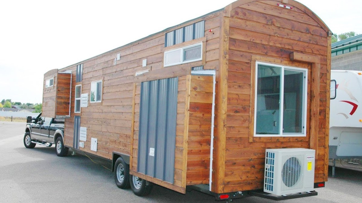 Some see tiny houses on wheels as glorified RVs, or a hipster trend that will soon fade away. Others believe that tiny homes are the way of the future, as available land and resources deplete. What do you think?
