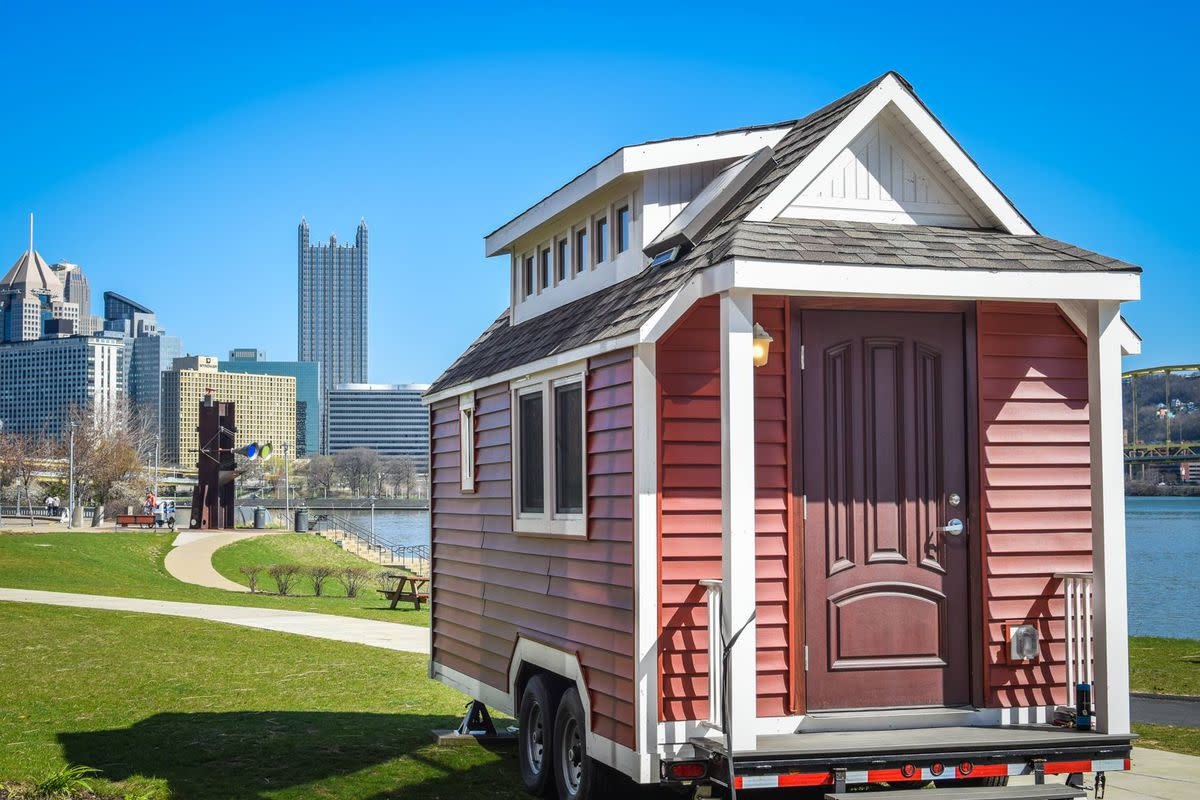 Before you move into a new city, you'll want to make sure you're welcome. Check out the city's housing laws and make sure you have a safe place to put your tiny home, or it may end up getting towed or even stolen.