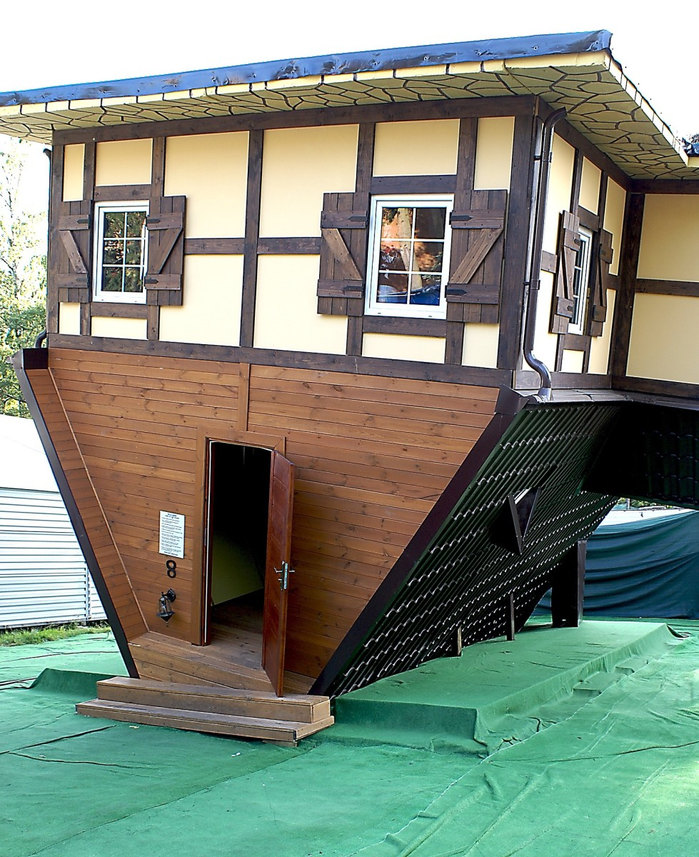 If you wanted to, you could even build your house to look like it's upside down. Tiny homes can borrow from all periods and styles of architecture, and can be made to fit any aesthetic.