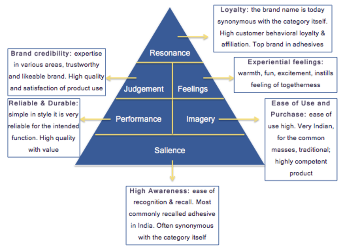 Figure 11 Fevicol CBBE Pyramid