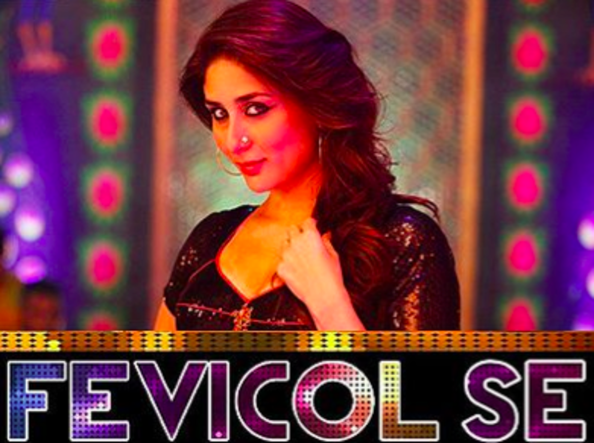 Figure 8 A snippet from the popular Bollywood song 'Fevicol Se' from Dabangg 2