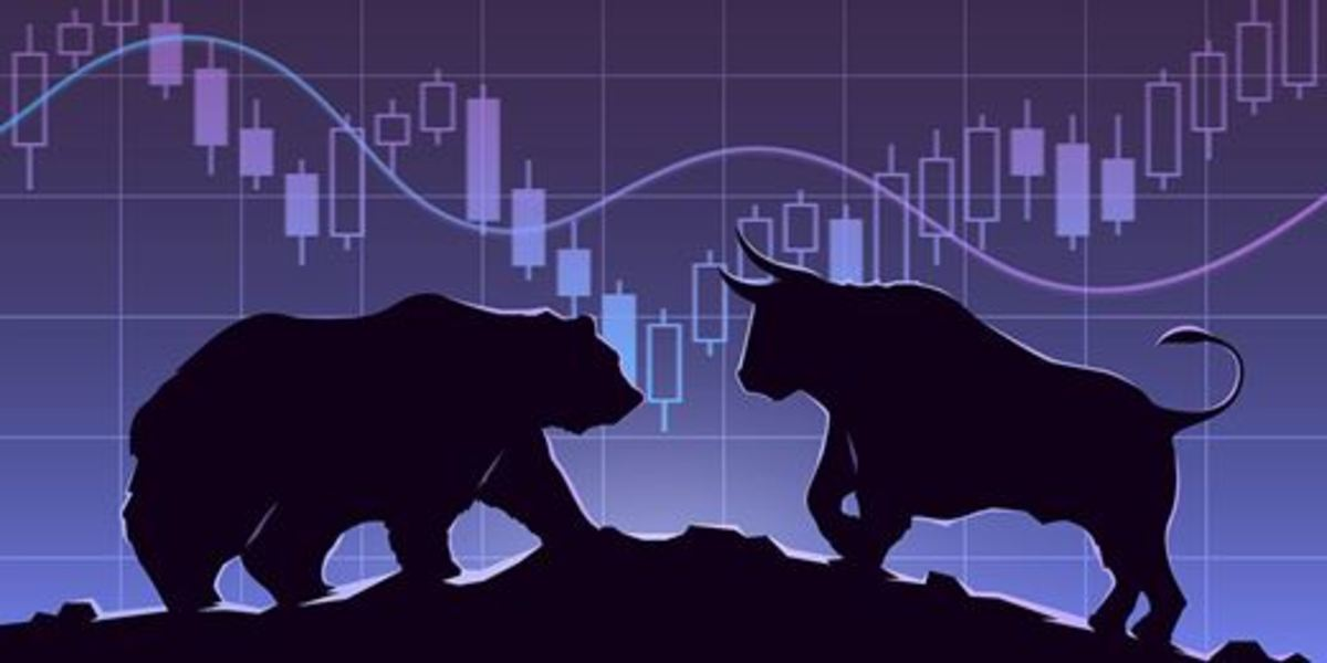 The stock market undergoes a constant struggle between those with bullish outlooks that believe stocks will go up in price and bearish ones that are expecting stocks will go down.