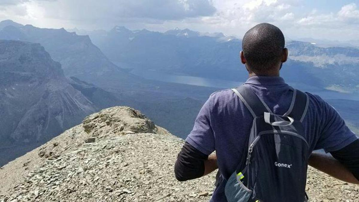 Climbing mountains in Glacier National Park. My online income gives me the freedom and the means to routinely travel to new places and explore new heights.