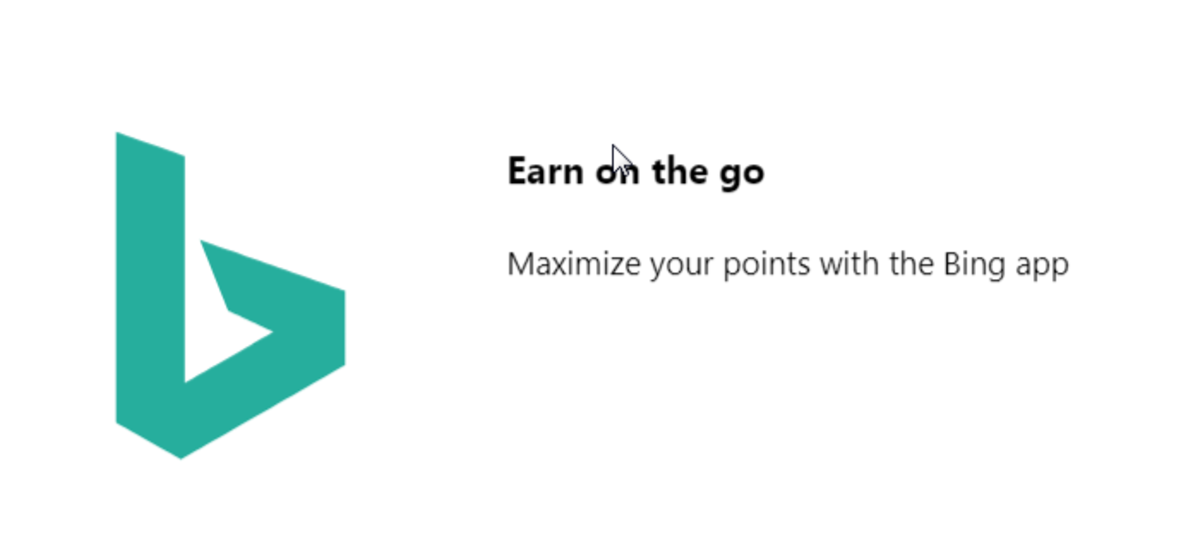 Use the app, get more points.