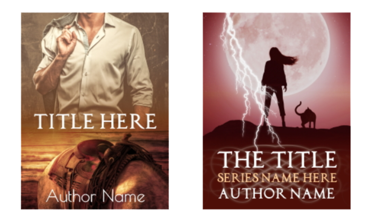 Both of these covers I designed use strong central visuals instead of shoving together multiple items and characters.
