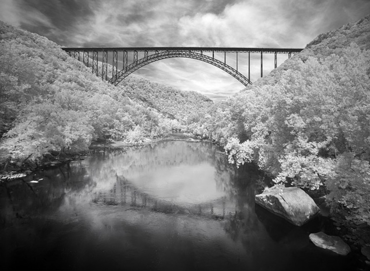Winter at the New River Gorge