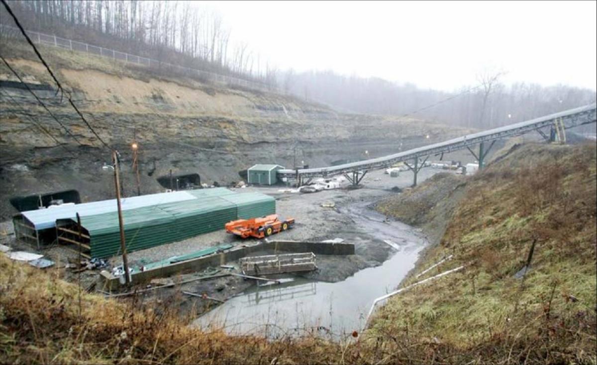 Sago Mine, W. Va.  - Coal Mine Disaster in 2006