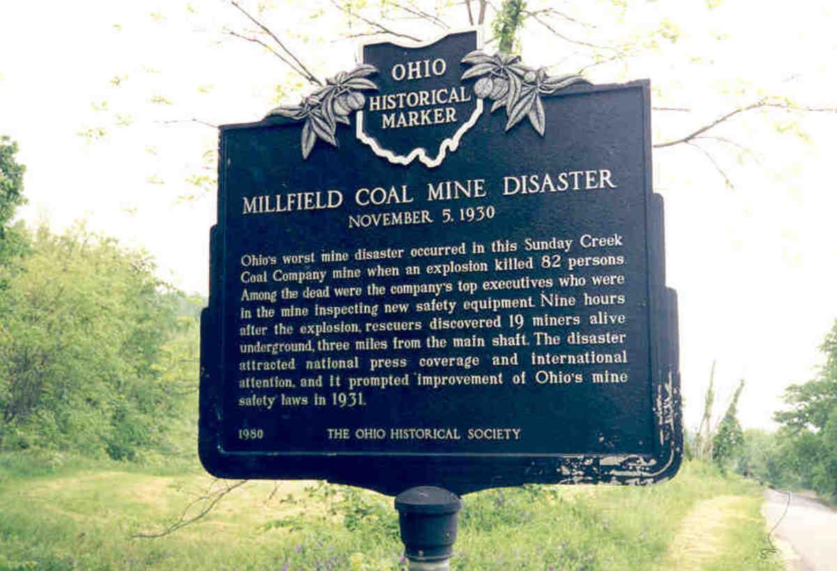 Millfield, Ohio Coal Mine Disaster: 1930
