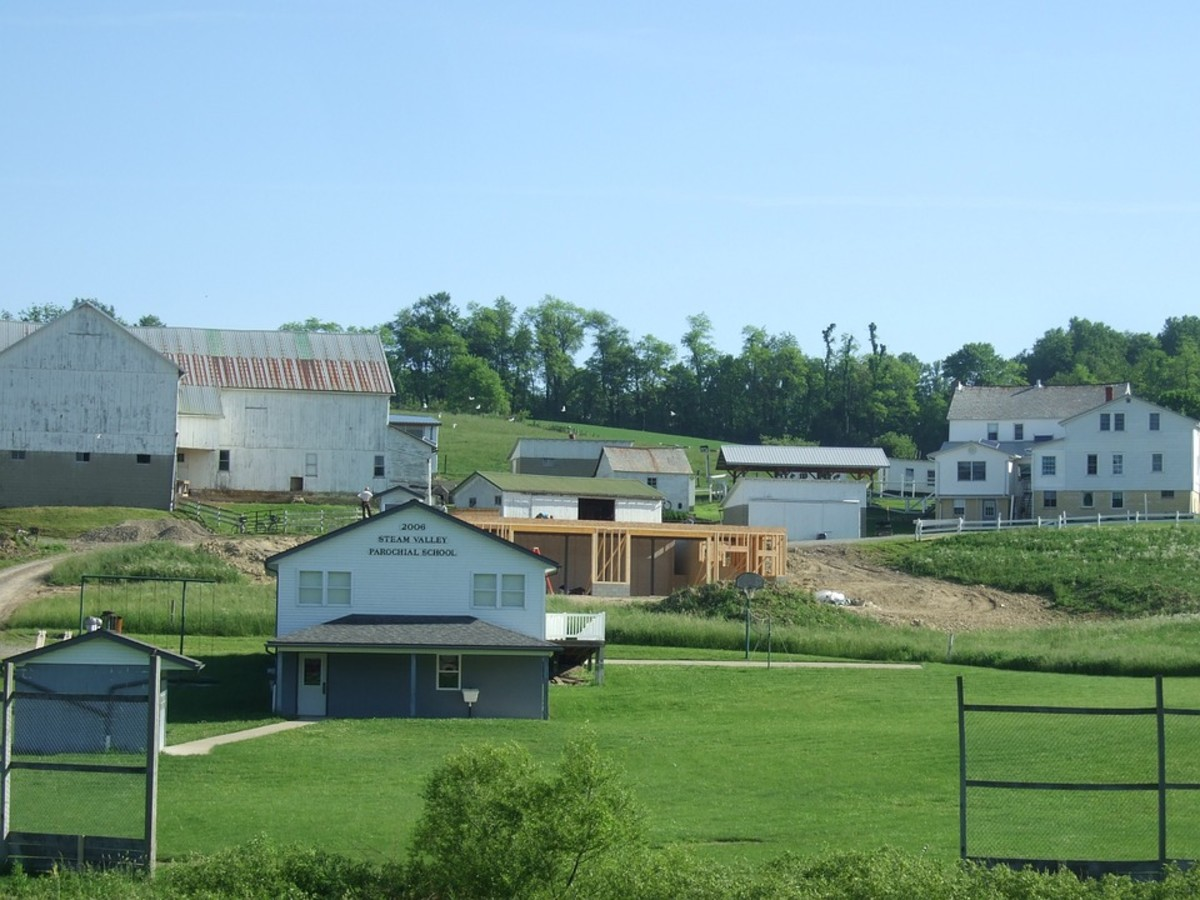 Amish Country - Largest Amish community in the world.