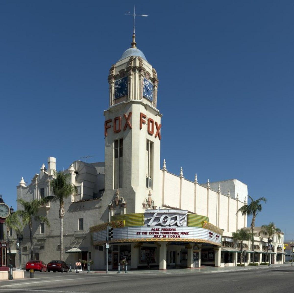 Fox Theater, Bakersfield CA.