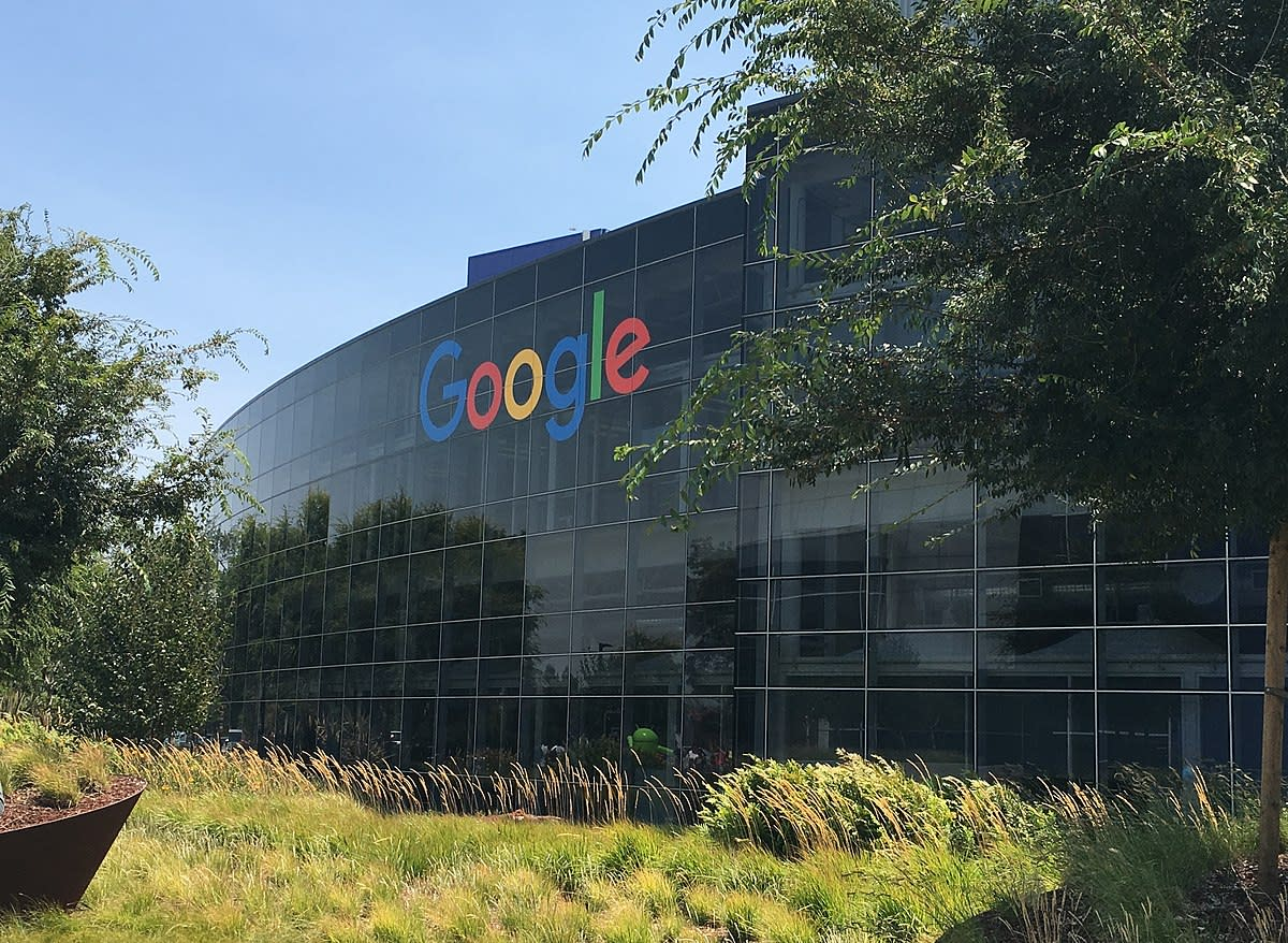Alphabet, Inc. Googleplex HQ.