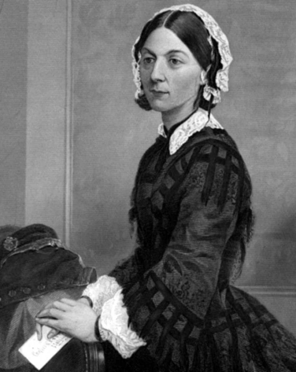 Early nurse Florence Nightingale