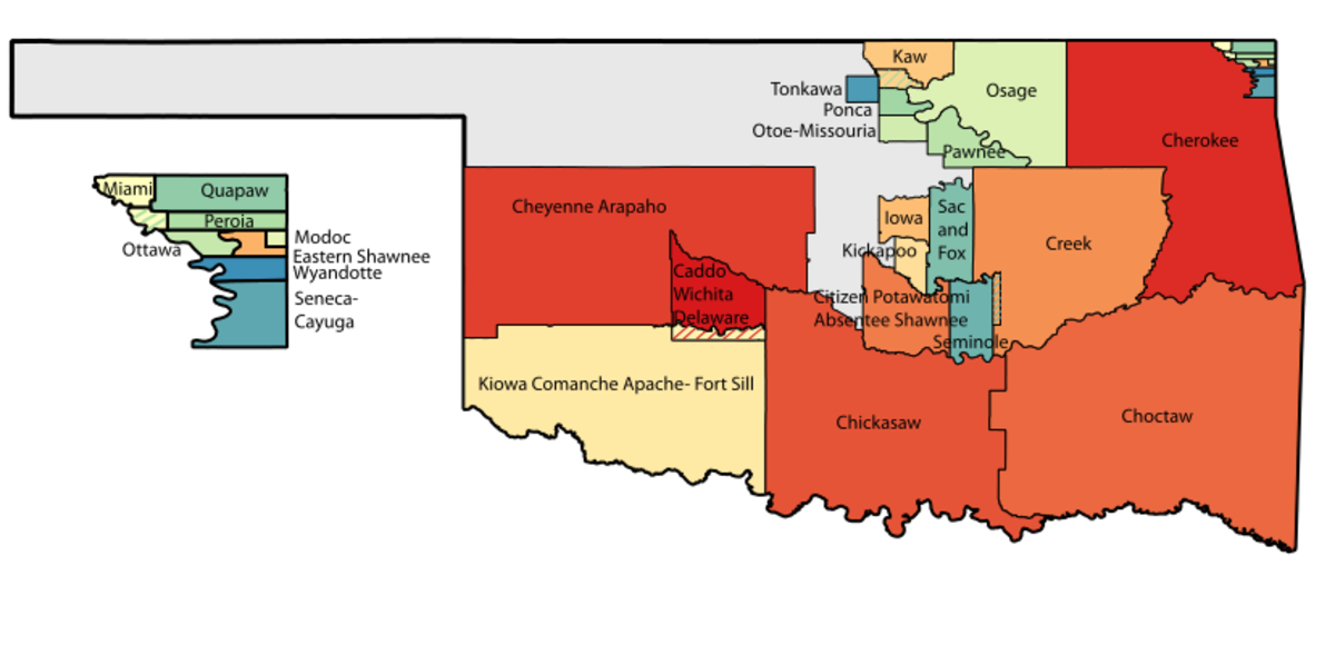 Oklahoma Tribal Statistical Areas
