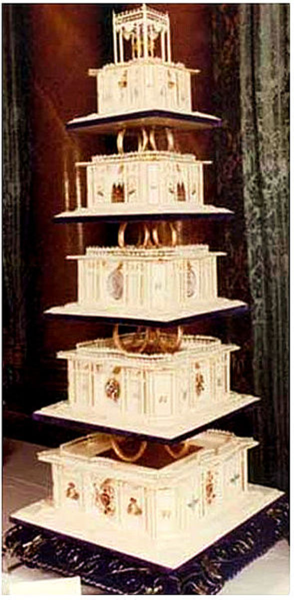 Lady Diana's Wedding Cake