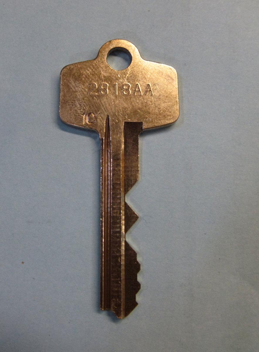 Key with Visual Key Control