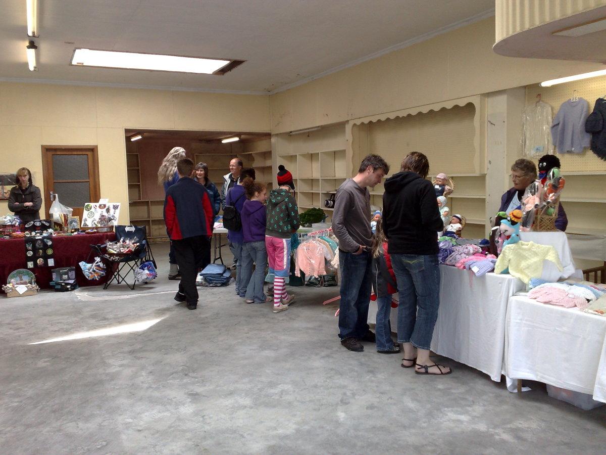 Mataura Community Market Opening Day