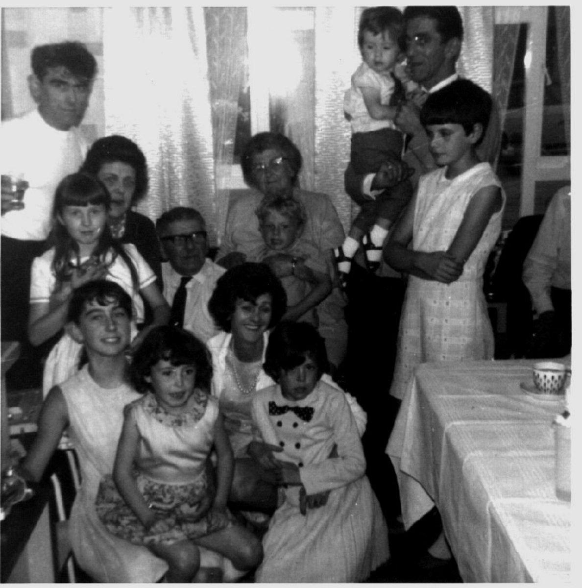 Some of the children and grandchildren