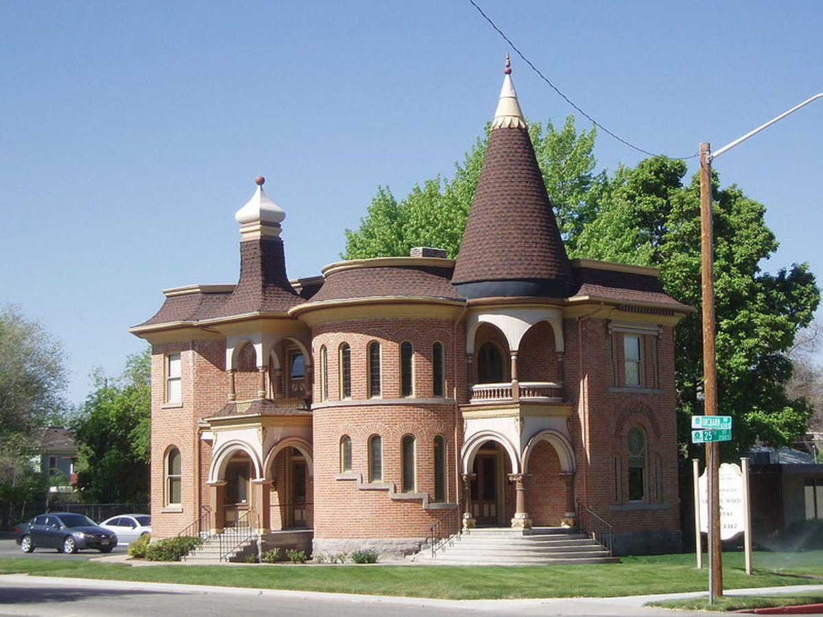 The Dennis A. Smyth House, historic place in Ogden, Utah.