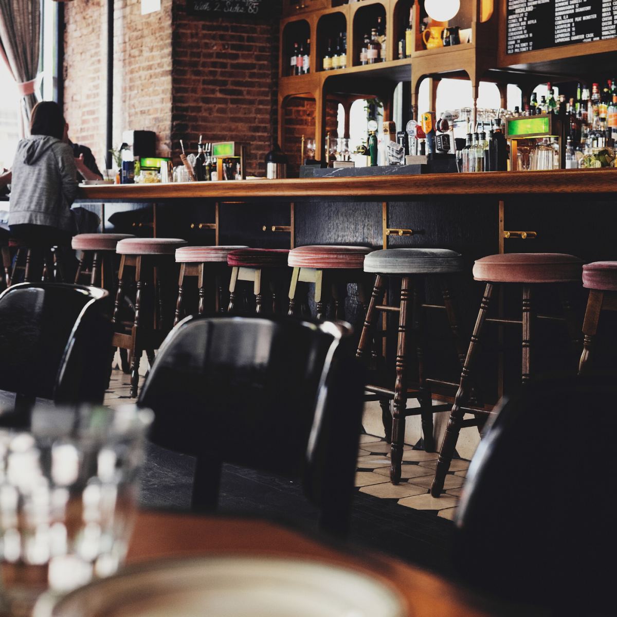 Bar traffic isn't always steady, and an uncrowded bar can mean minimal tips.
