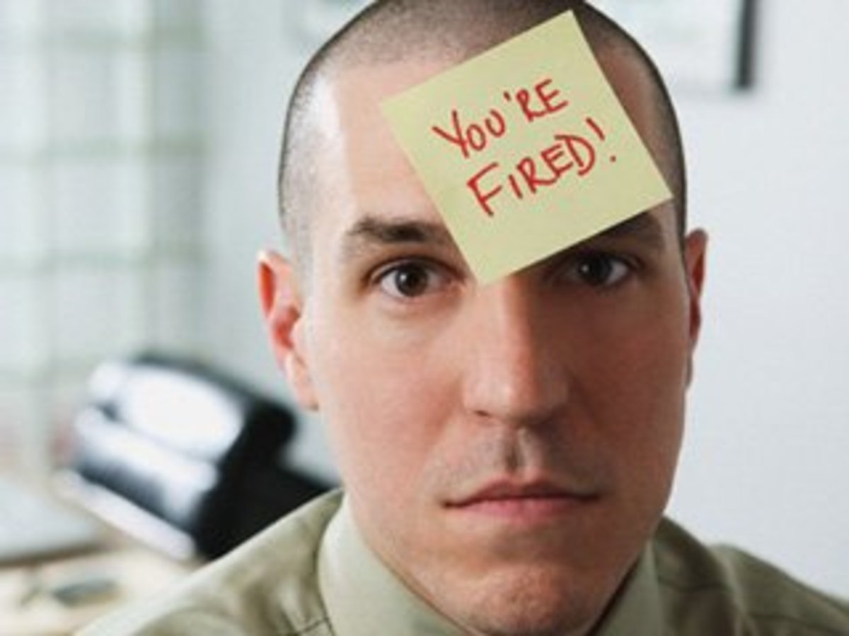 If you were fired with little or no warning, your boss screwed up.