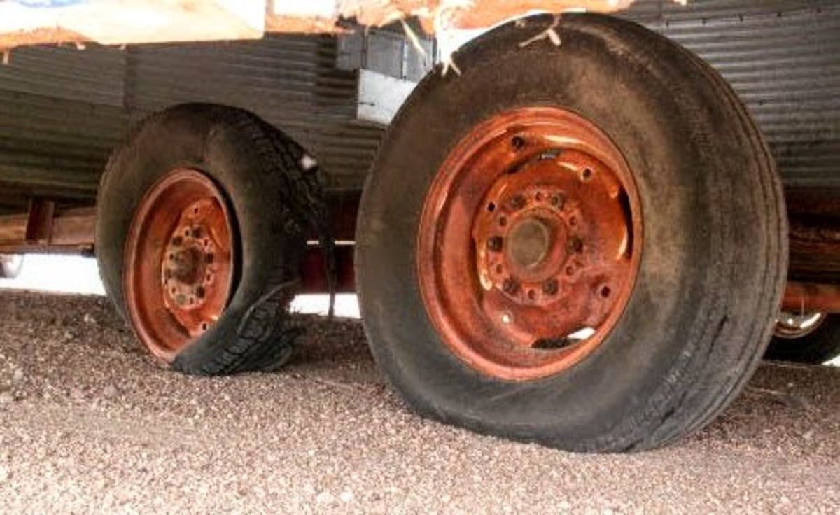 The poor, fried tires.