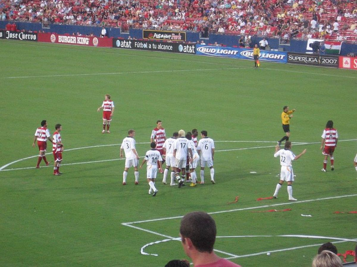 FC Dallas vs. LA Galaxy in the 2007 SuperLiga on July 31, 2007 at Pizza Hut Park in Frisco, Texas
