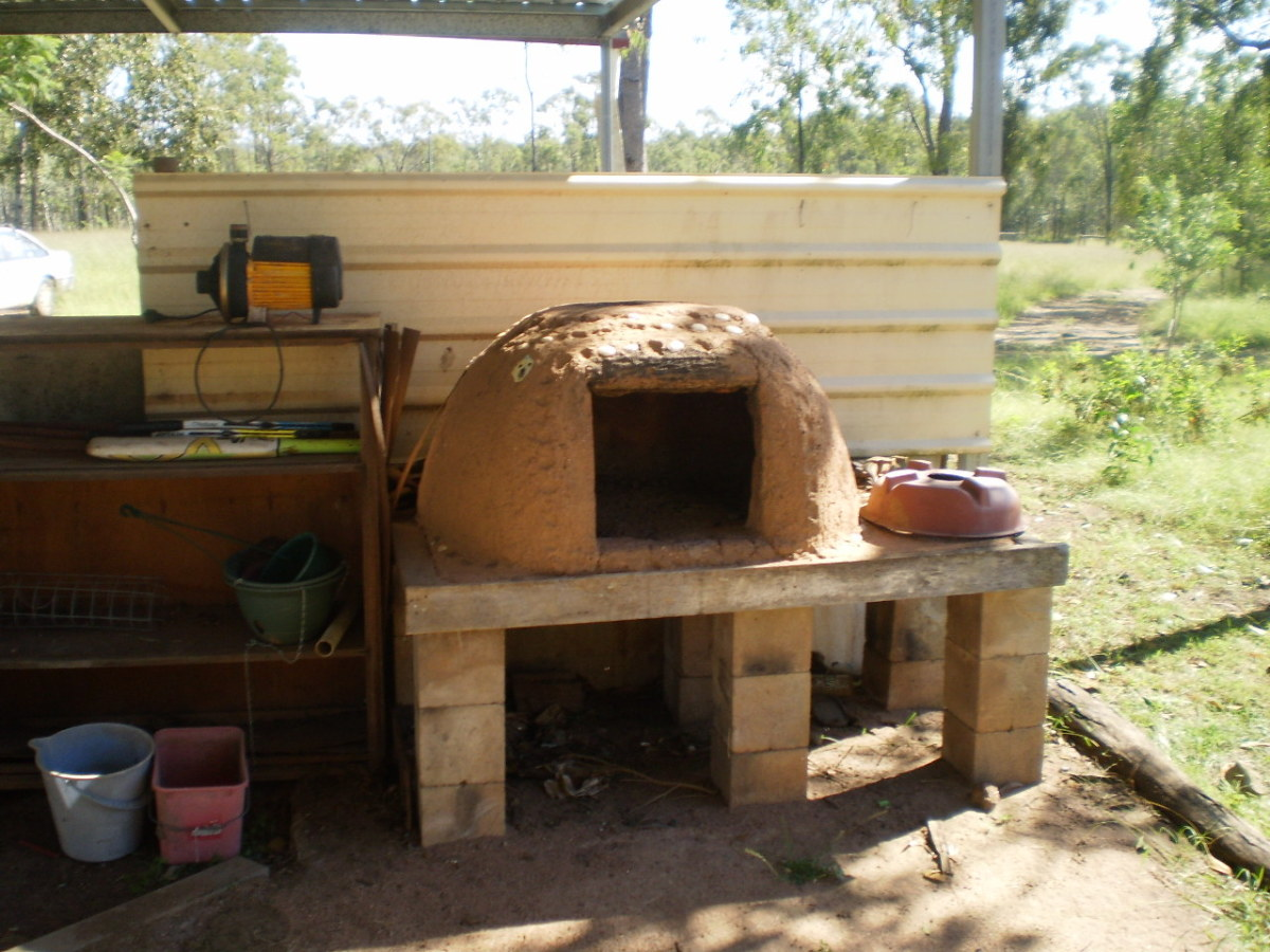 our cob (pizza) oven