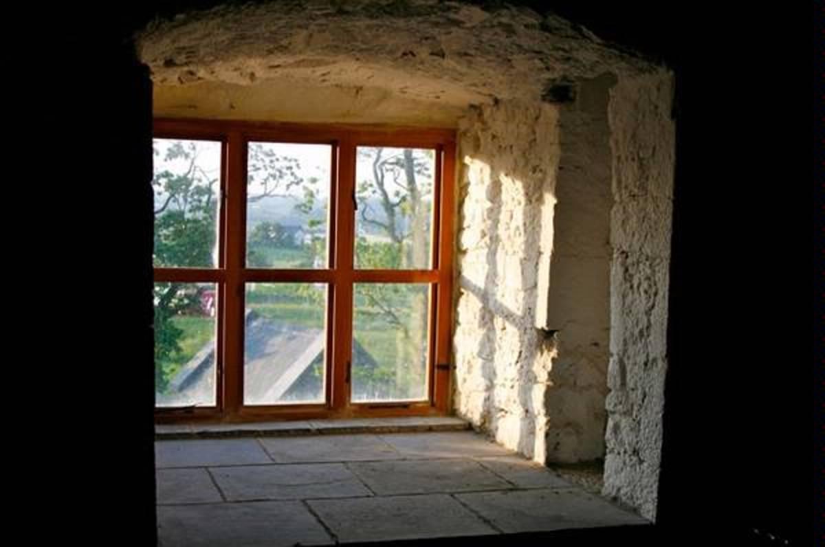 View from Killahara Castle