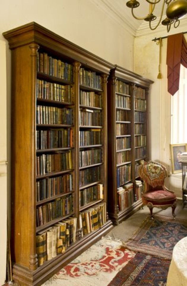 Cloghan Castle Library