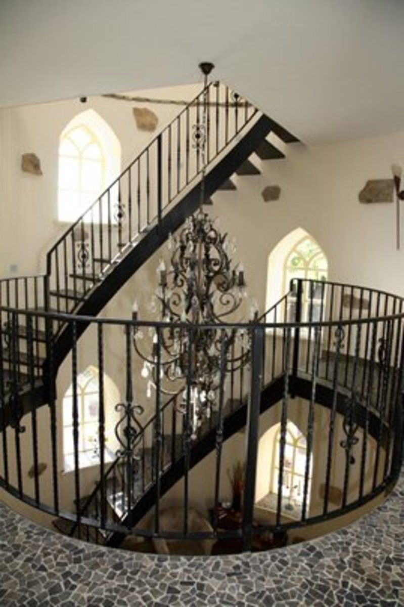 Heathfield Castle Stairway