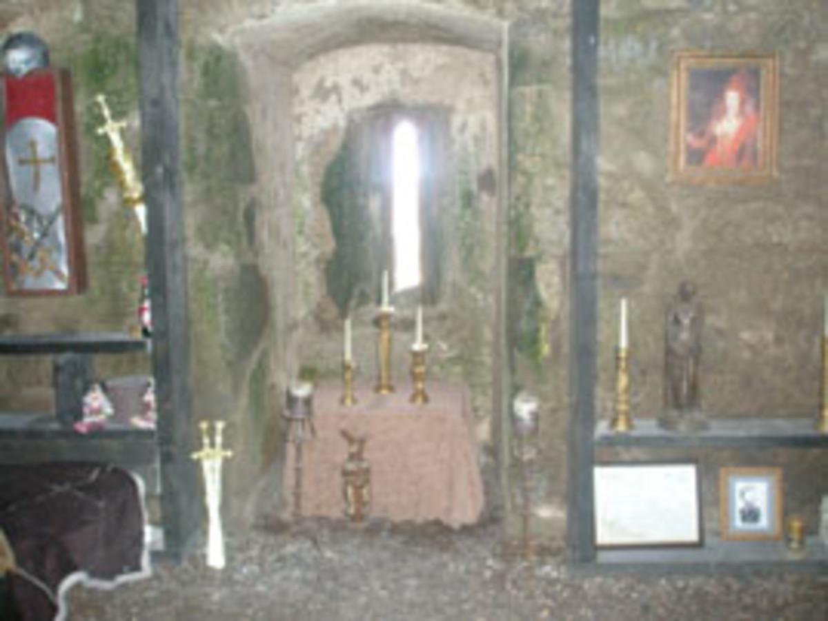 Clonony Castle Interior