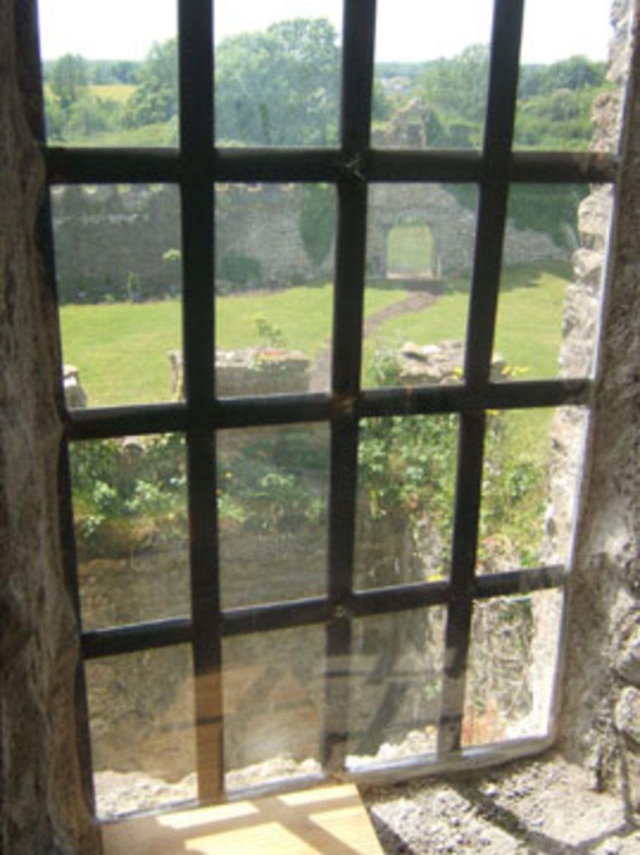Clonony Castle Window