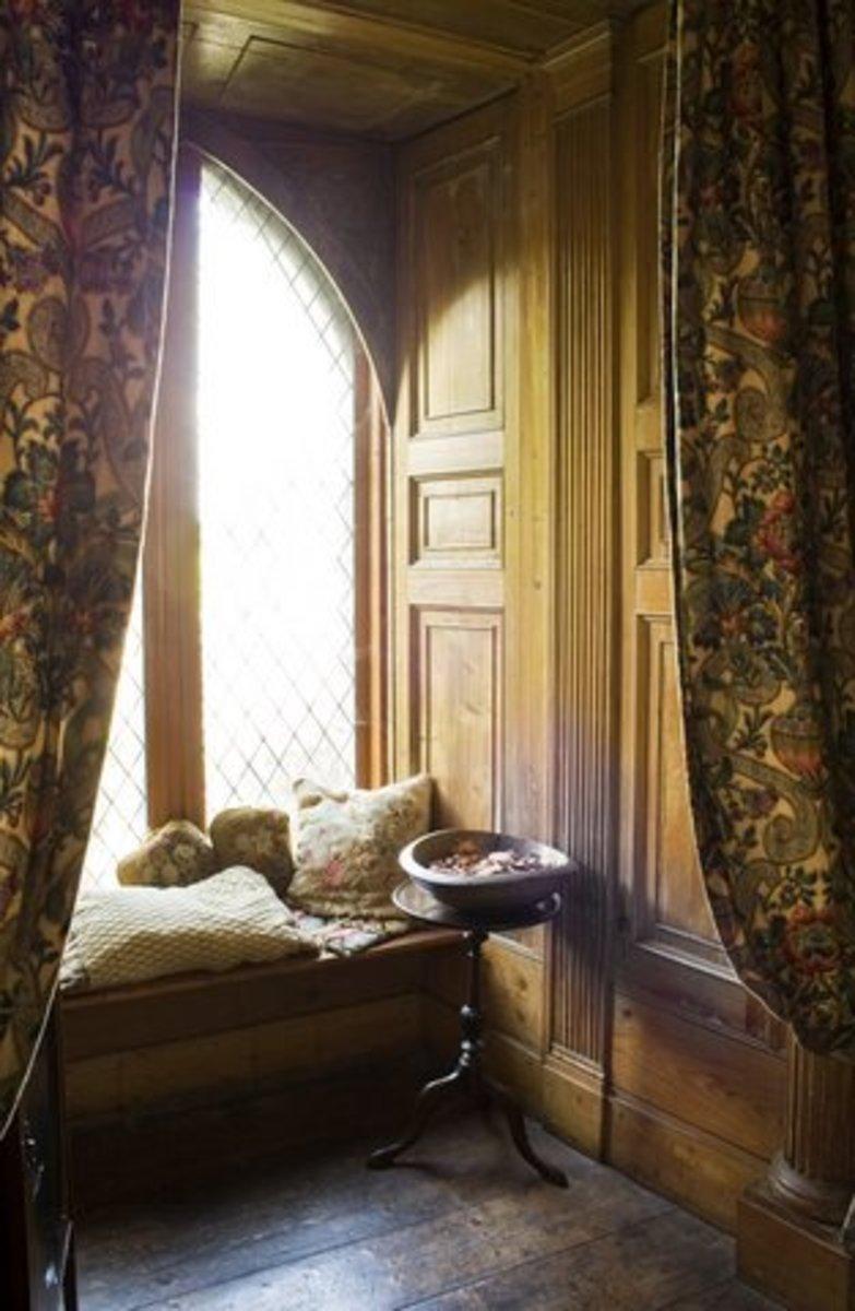 Cloghan Castle Gorgeous Curtains