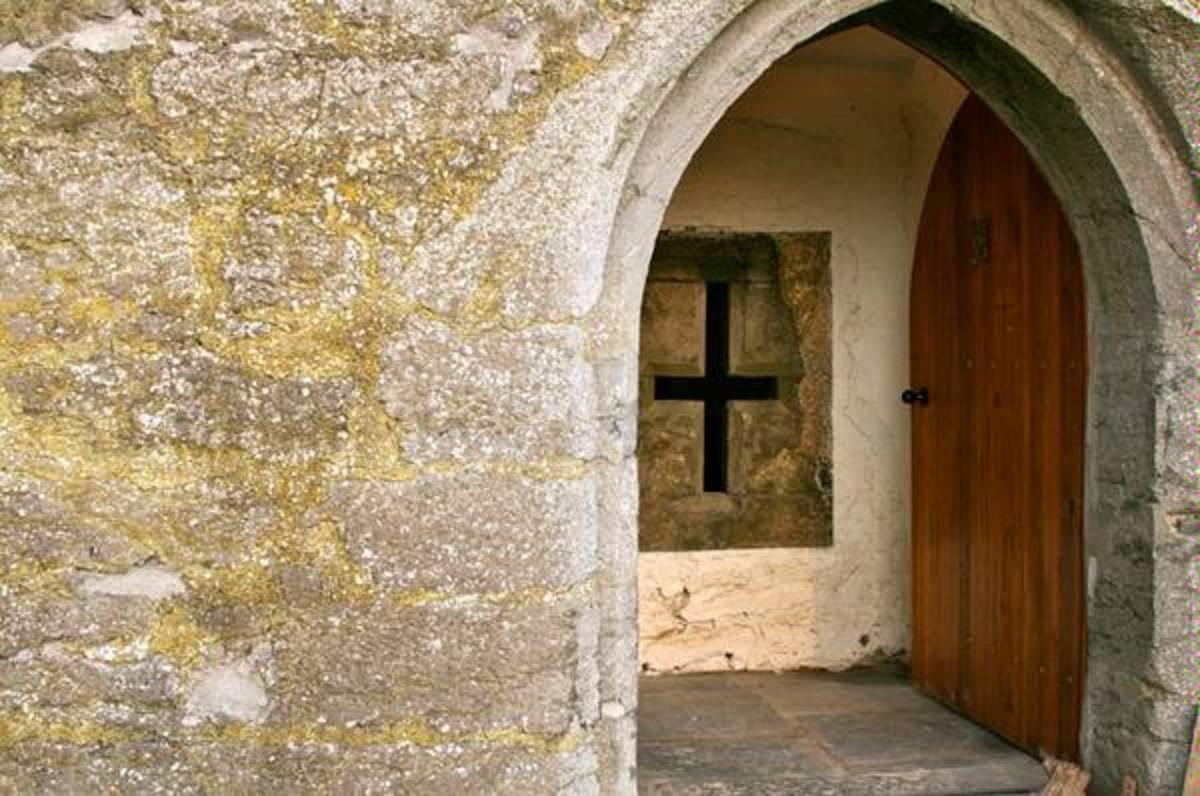 Killahara Castle Arch