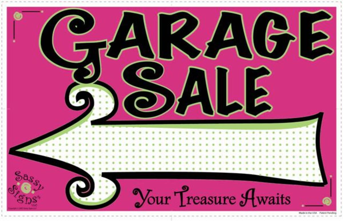 Plan well.  Maybe have a block garage sale.