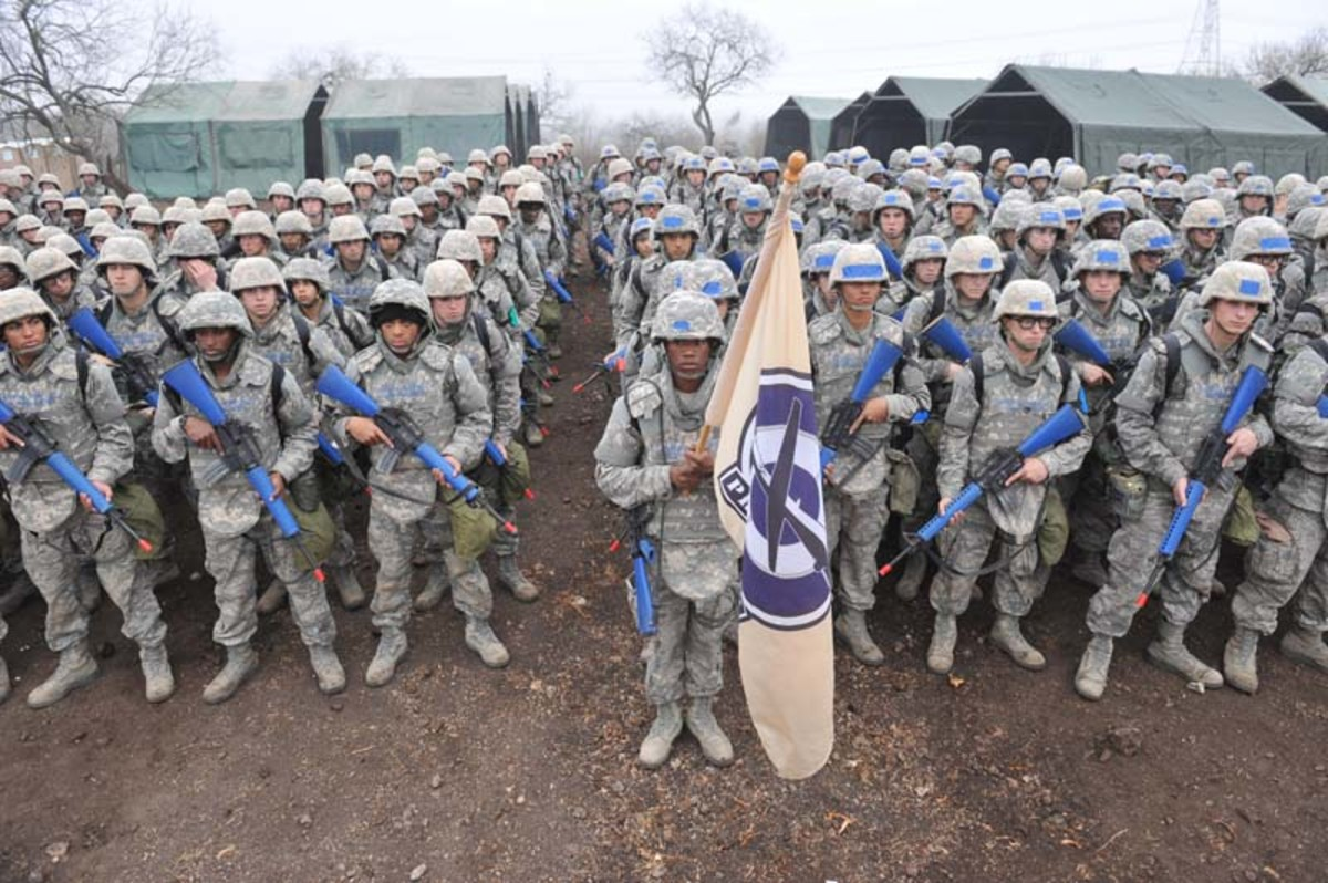 The Air Force BMT (Basic Training/Boot Camp) at Lackland AFB
