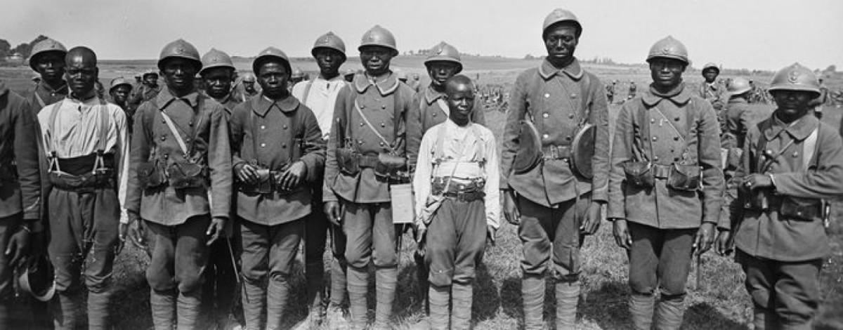Tirailleurs Sénégalais in WWI
