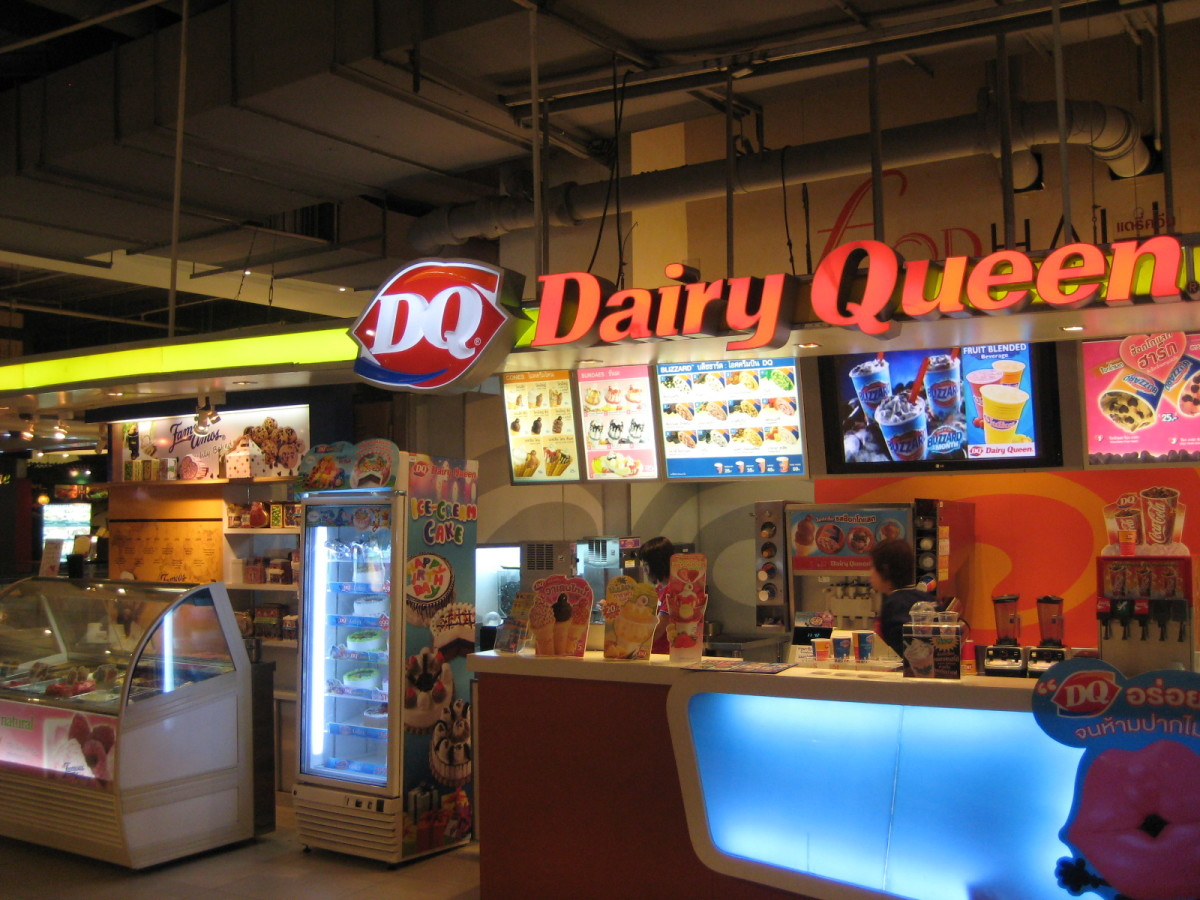 Dairy Queens are all over Thailand today