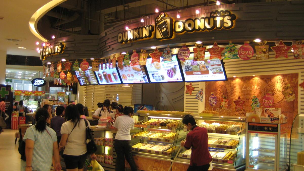 Thais run on Dunkin' Donuts too