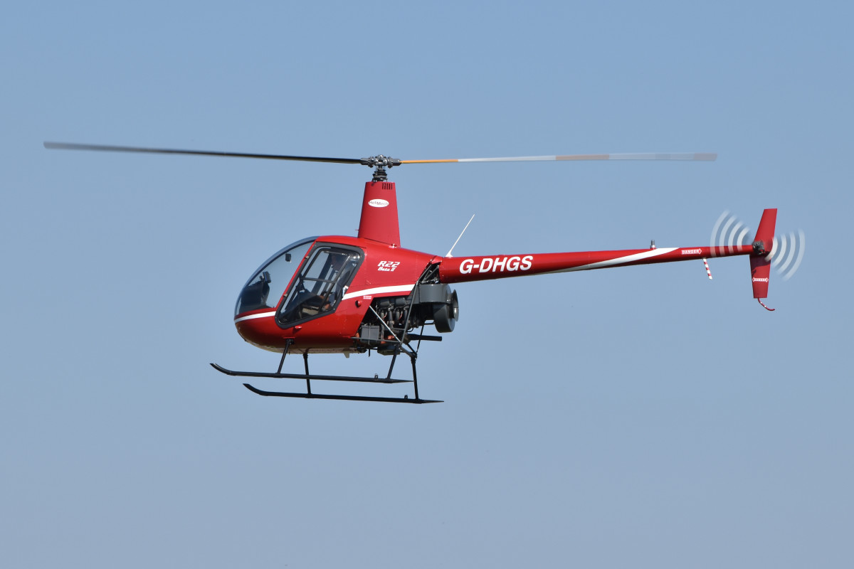 The lightweight and responsive R-22 is a popular choice for those seeking a lower-cost helicopter.