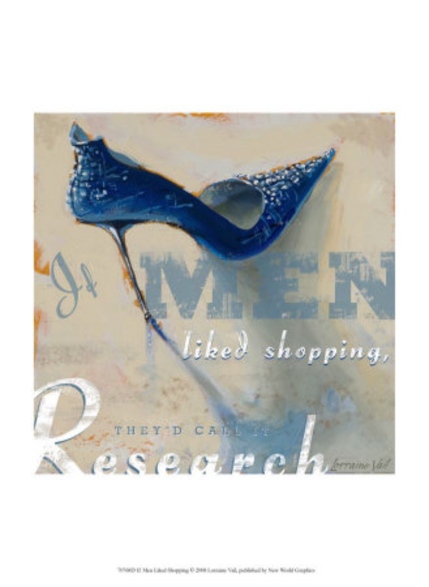If Men Liked Shopping, byLorraine Vail