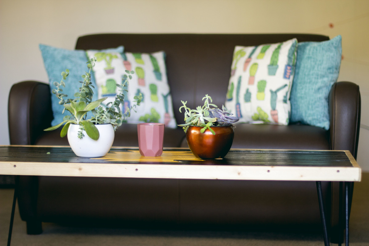 Using your own furniture to decorate is rewarding!