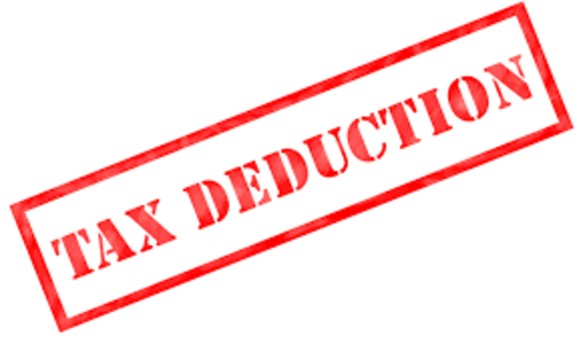 Tax deductions can save you loads of money.