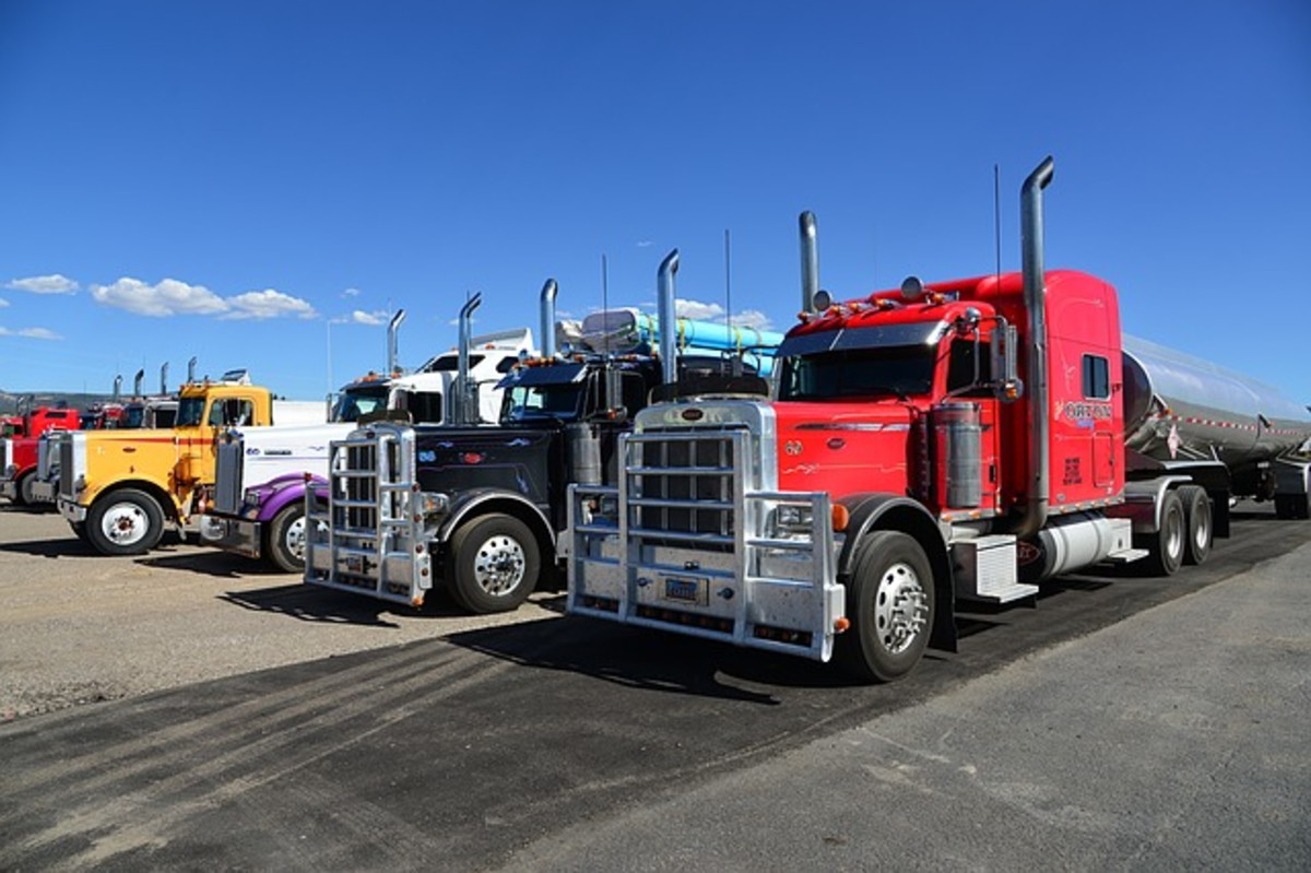 Trucking Industry shows largest gains in jobs.