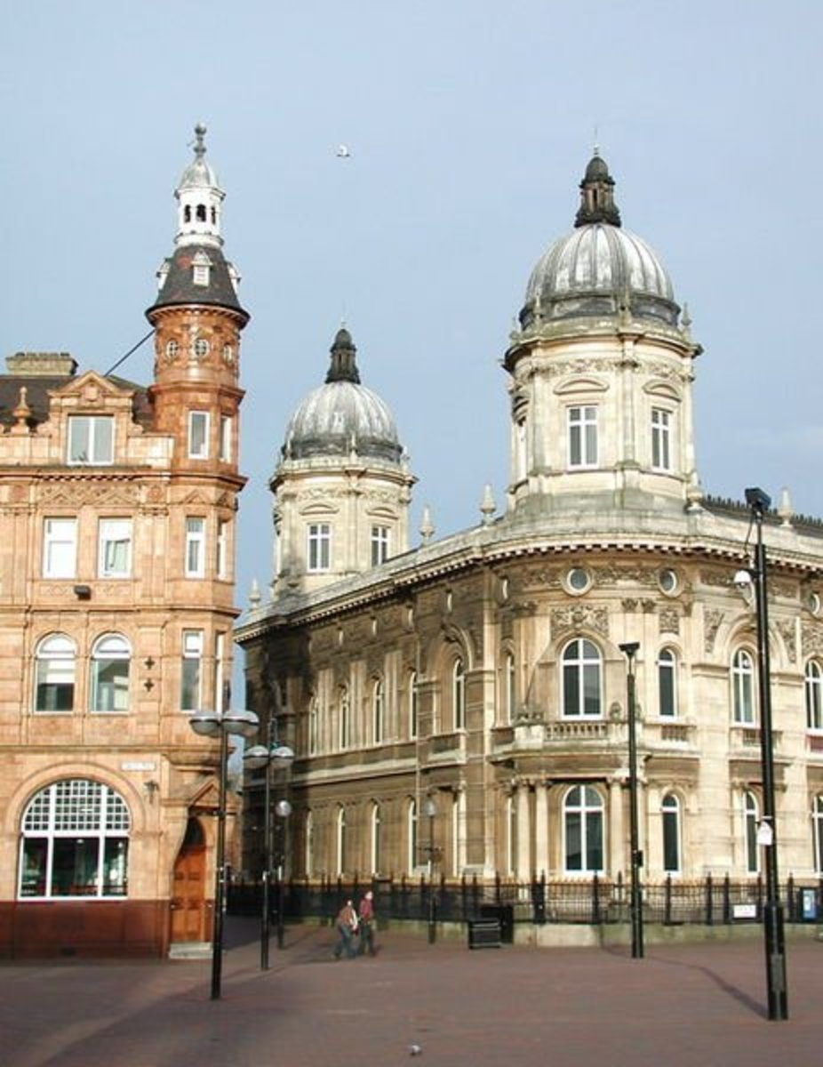 The Old Yorkshire Penny Bank building, Hull.