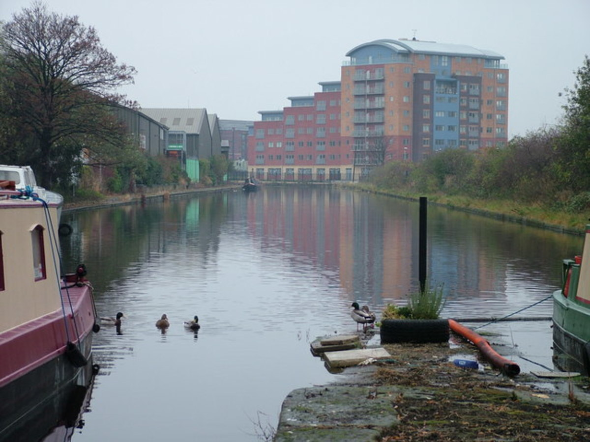 Calder Canal, Wakefield