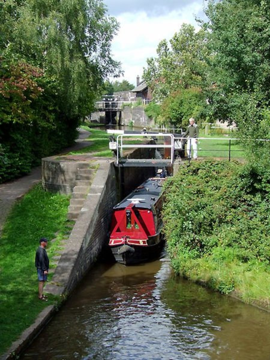 Trent & Mersey Canal, Stoke-on-Trent